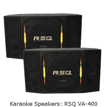 Karaoke Speakers - RSQ Karaoke Speakers